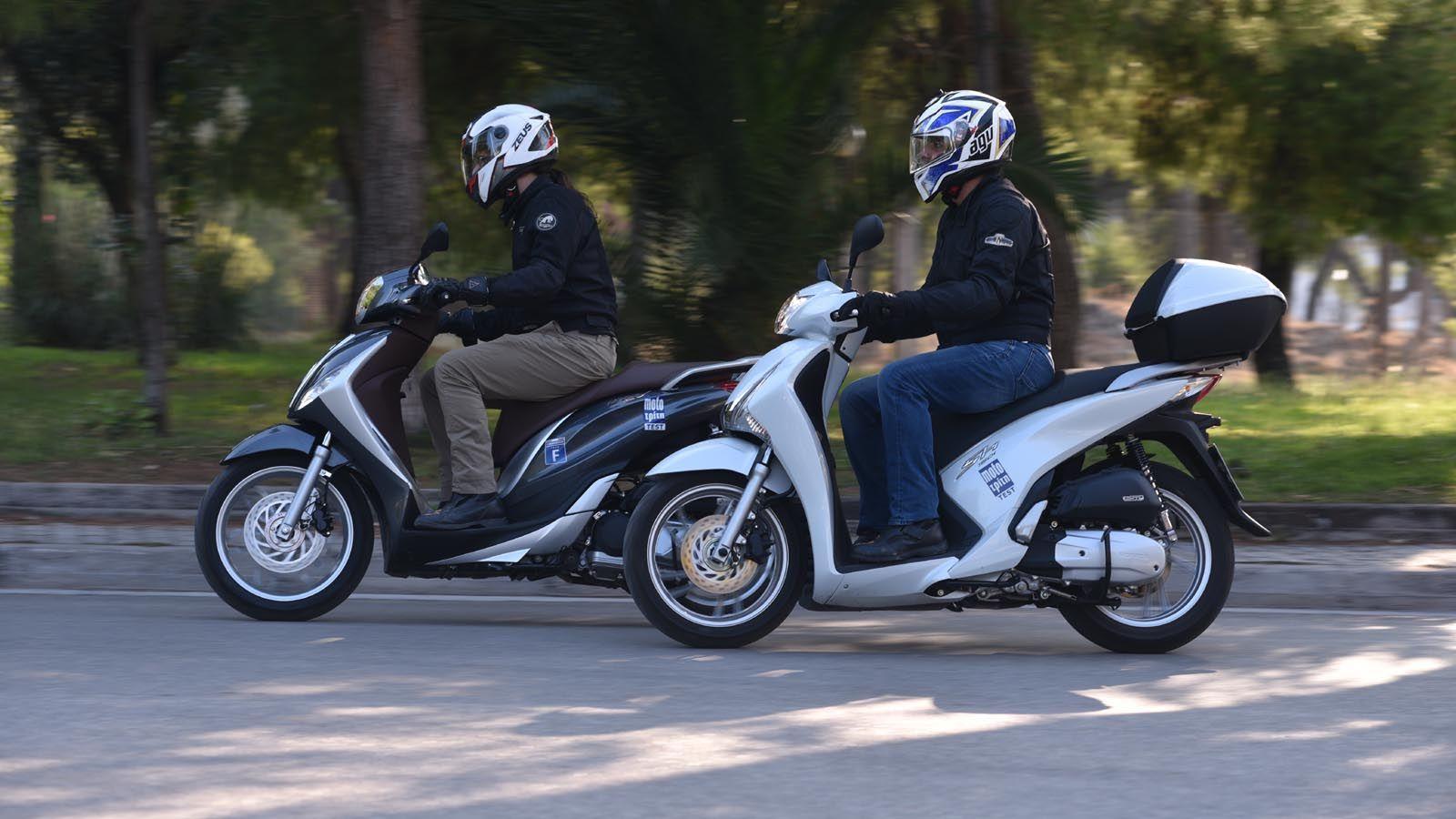Piaggio Medley 150 VS Honda SH 150  honda sh 150i top box, piaggio