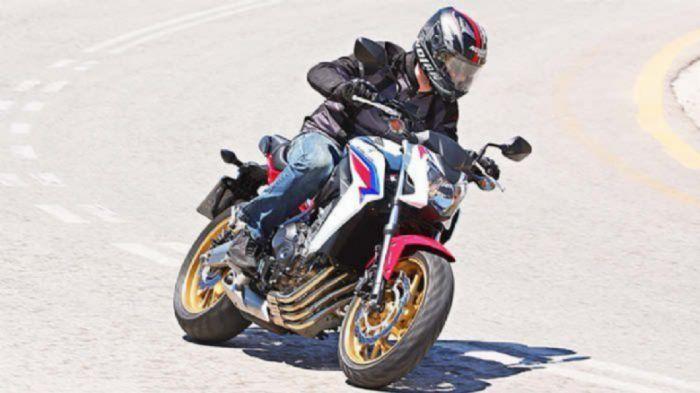 Τα φθηνότερα μεσαία naked Honda CB650F - honda cb 650f