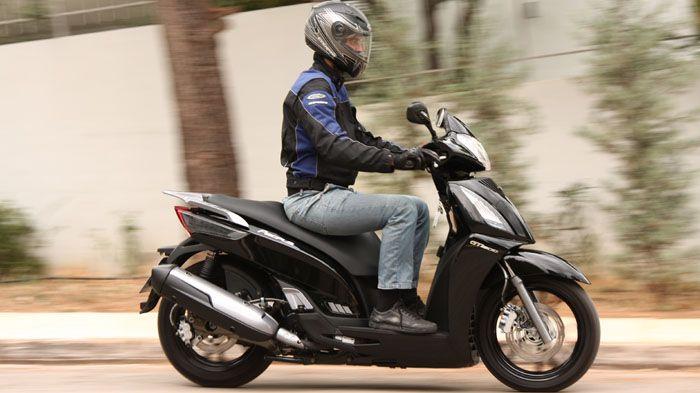 scooter   honda sh 300i kymco people gti 30