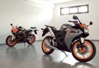 Μοτοσικλέτες 125-250 κ.εκ. του 2011