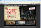 Στον «αέρα» η ιστοσελίδα της Harley Davidson