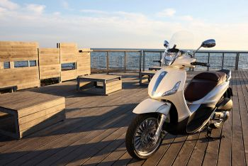 Mini test: Piaggio Beverly 300ie