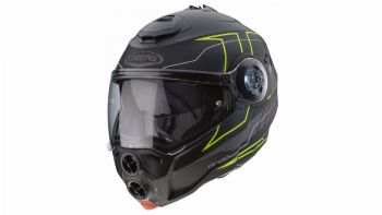 Caberg Droid Blaze Matt Black-Yellow Fluo