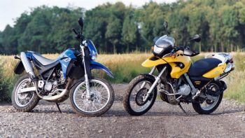 Yamaha XT 660 R VS BMW F 650 GS