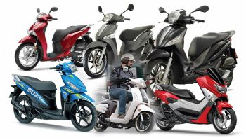 6 scooter με χαμηλή κατανάλωση έως 155 κ.εκ.