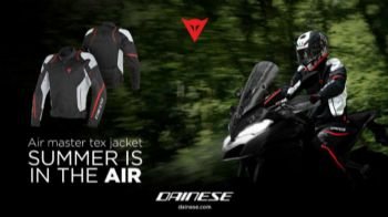 Dainese Air Master: Η απάντηση στη ζέστη