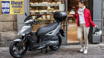 TO SCOOTER ME THN ΥΨΗΛΟΤΕΡΗ VALUE FOR MONEY ΣΧΕΣΗ: Kymco Agility 16+ 150