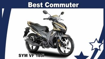 Best Commuter 2019: SYM VF185