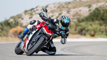 Ducati Steetfighter V4 2020 - Test