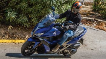 Test: KYMCO Xciting-S 400