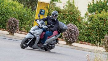 Test: Kymco People S 300