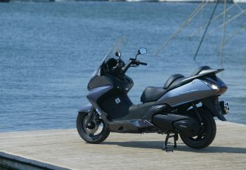 "Honda Silverwing... ""of change"" 400"