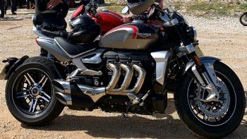 Spy Pics: To Triumph Rocket III παραγωγής
