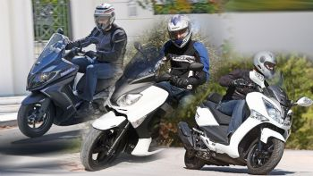 3 GT Scooters έτοιμα για όλα!