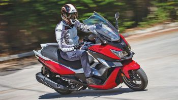 Test: SYM Cruisym 300i