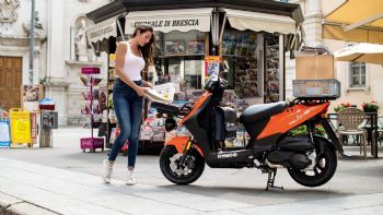 Νέο KYMCO Agility Carry 125