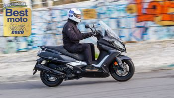 Test: KYMCO Downtown 350 Noodoe