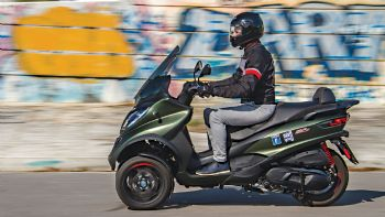 Test: Piaggio MP3 350 Sport