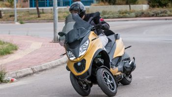 Test: Piaggio MP3 500 HPE Sport Advanced