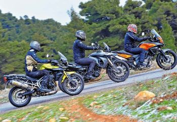 BMW F 800 GS vs Suzuki V-Strom 650 vs Triumph Tiger 800