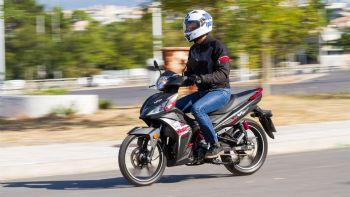 Test: SYM VF125