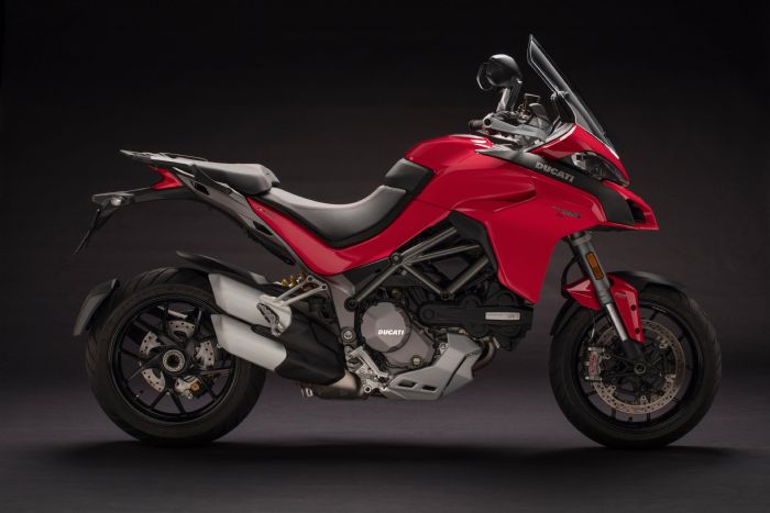 ducati multistrada 1260 s red