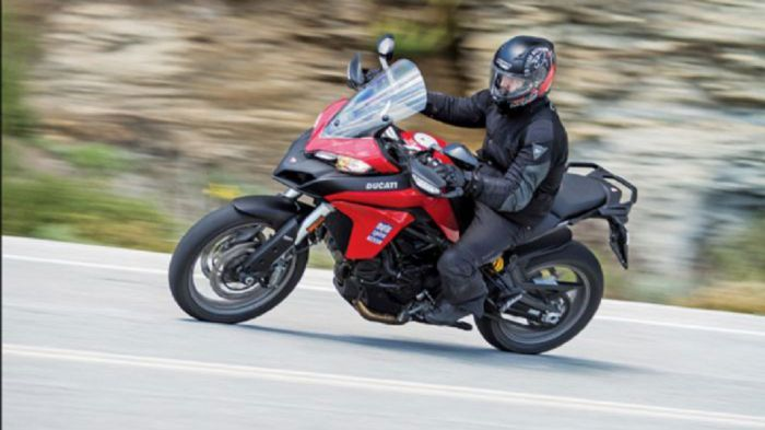 ducati multistrada 950 red