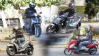 4 Scooter μέχρι 200 κυβικά που λύνουν τον αστικό γρίφο